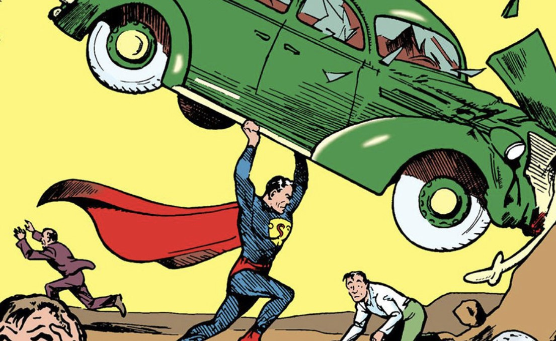 SUPERMAN PICK UP CAR